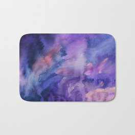 ON HOLD Watercolour Bath Mat