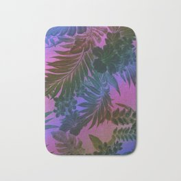 Happy Aloha Purple Bath Mat