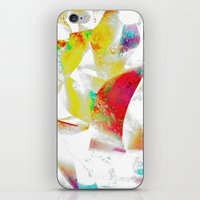 silver iPhone & iPod Skins featuring Silver by Yilan