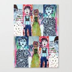 All The Freaks Canvas Print