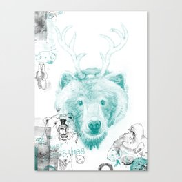 Bear Necessities Canvas Print