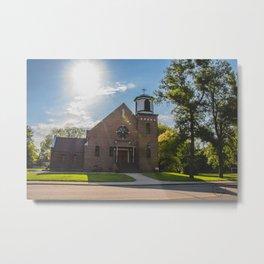 Holy Trinity Catholic Church, Fingal, North Dakota 3 Metal Print