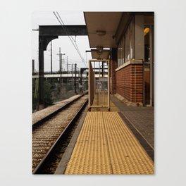 urban teleport Canvas Print