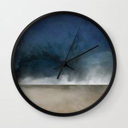 Beach landing Wall Clock