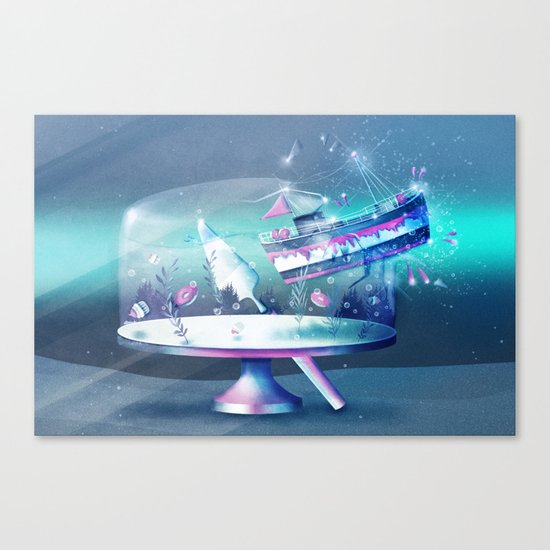 Sweet Escape Canvas Print