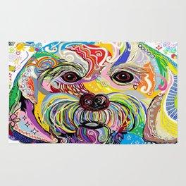 Maltese Puppy Rug