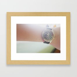 watches Framed Art Print