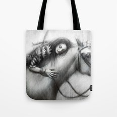 Pale Horse Tote Bag