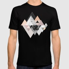 Graphic 110 Black Mens Fitted Tee LARGE