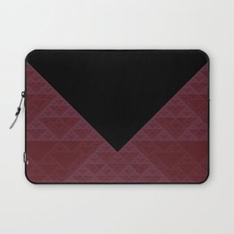 a+b+c+ac+abc (mod 4) (plum) Laptop Sleeve