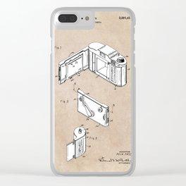 patent art Frye Roll film camera 1950 Clear iPhone Case