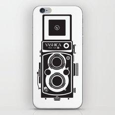 Yashica Mat 124G Camera iPhone & iPod Skin