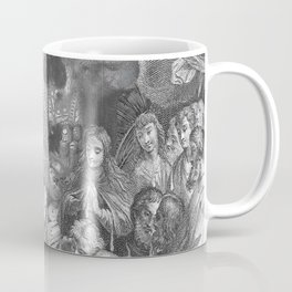 Rubino Vintage Skull Garden Rise Coffee Mug