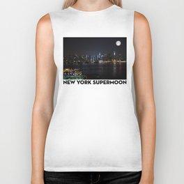 New York Supermoon Biker Tank