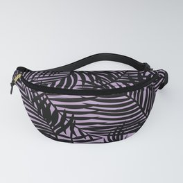 Lilac Tropical Island Fanny Pack