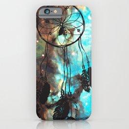 Dreamcatcher (blue) iPhone Case