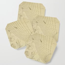 Jérôme Lalande's Astronomie (1771) - Geometric Calculations 2 Coaster