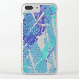 Carved Fluo Jungle #society6 #decor #buyart Clear iPhone Case