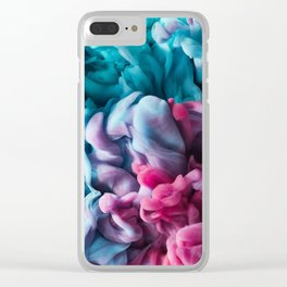 Water Colour splash Clear iPhone Case