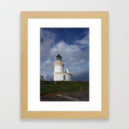 Chanonry Point Lighthouse, near Rosemarkie, Scotland Framed Art Print