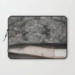 Metal and clouds Laptop Sleeve