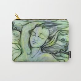 """""""Woman Resting to the Sea"""" Carry-All Pouch"""