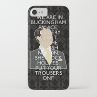 scandal iPhone & iPod Cases featuring A Scandal in Belgravia - Mycroft Holmes by MacGuffin Designs