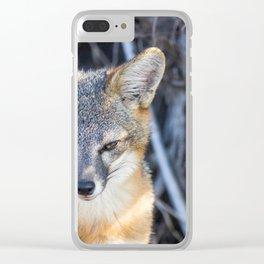 Foxy Clear iPhone Case