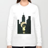 starry night Long Sleeve T-shirts featuring Starry Night by Bluepress