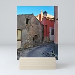 Sicilian Medieval Village (The Godfather/1971) Mini Art Print