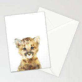 Little Mountain Lion Stationery Cards