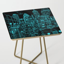 London! Night Side Table