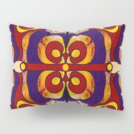 Celebration Of Sanity Abstract Bliss Art By Omashte Pillow Sham