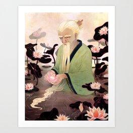 Flowers of Illusion Art Print
