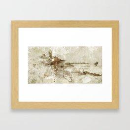earth_02 Framed Art Print