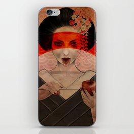 Geisha iPhone Skin
