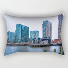 Long Island City Rectangular Pillow