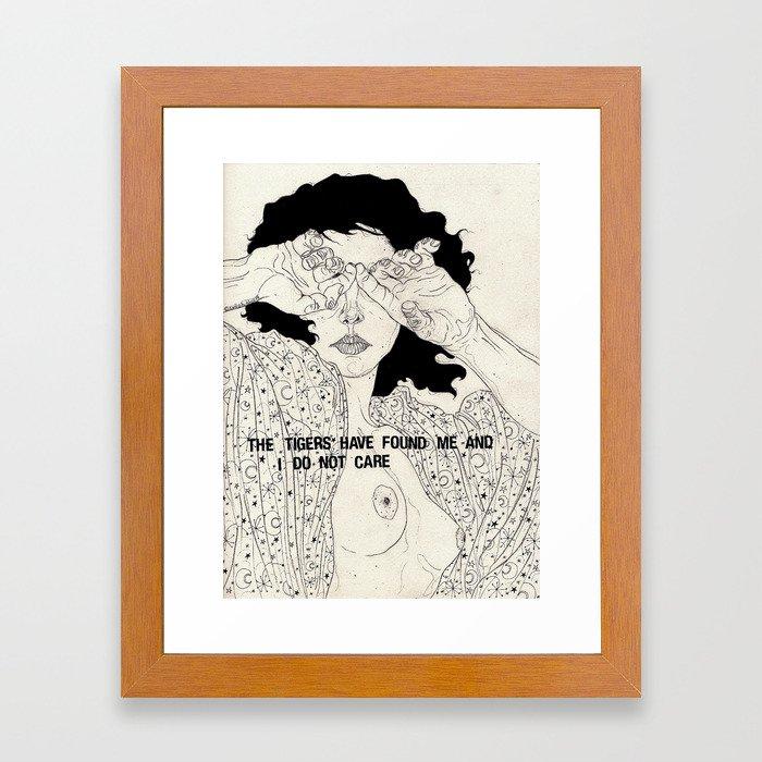 Hide And Seek Framed Art Print