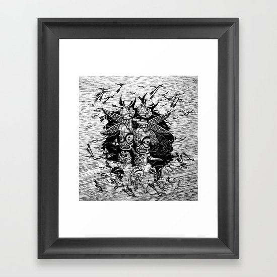 The Myth of Totummy Framed Art Print