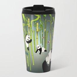 Panda's Playground - Dark Version Travel Mug