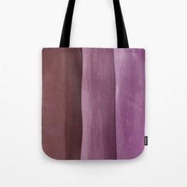 Pink Gradient on Wood Tote Bag