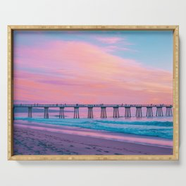 Cotton Candy Sunset Serving Tray