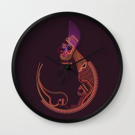 Be a King Wall Clock
