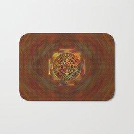 Colorful Sri Yantra  / Sri Chakra Bath Mat