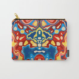 Biomorphic Primaries Carry-All Pouch