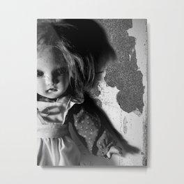 Old Doll 8-21-2007 060 Metal Print
