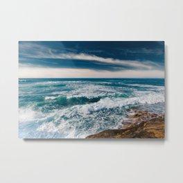 Sunset Cliffs San Diego II Metal Print