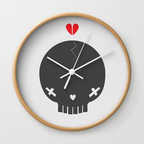 HEART BREAKER - ed. fact Wall Clock