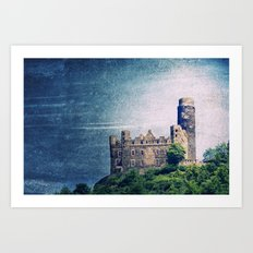 Burg Maus Art Print