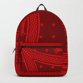 Morning Star (Red) Backpack